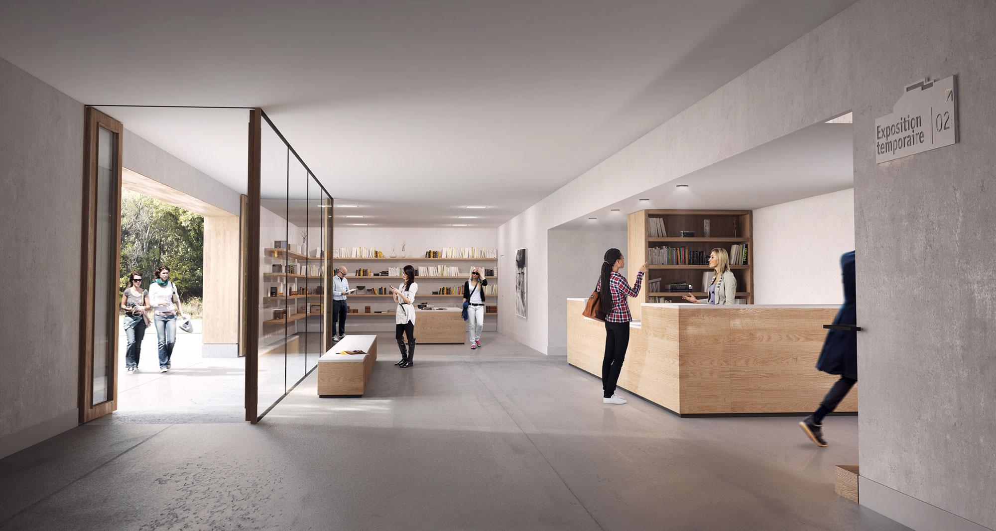 malauc ne grenier d architecture combas architectes. Black Bedroom Furniture Sets. Home Design Ideas